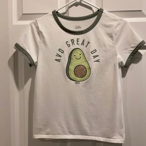 """Justice T-shirt """"Avo Great Day"""""""